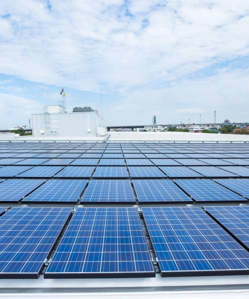 Panel solar installation