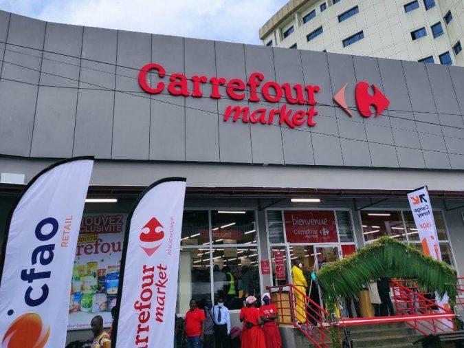 Ouverture Carrefour Market Ancien Dalip Cameroun
